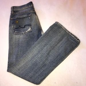 7 for all man kind great wall of China jeans